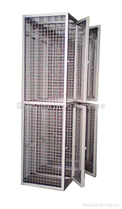 Wire Mesh Storage Locker 2