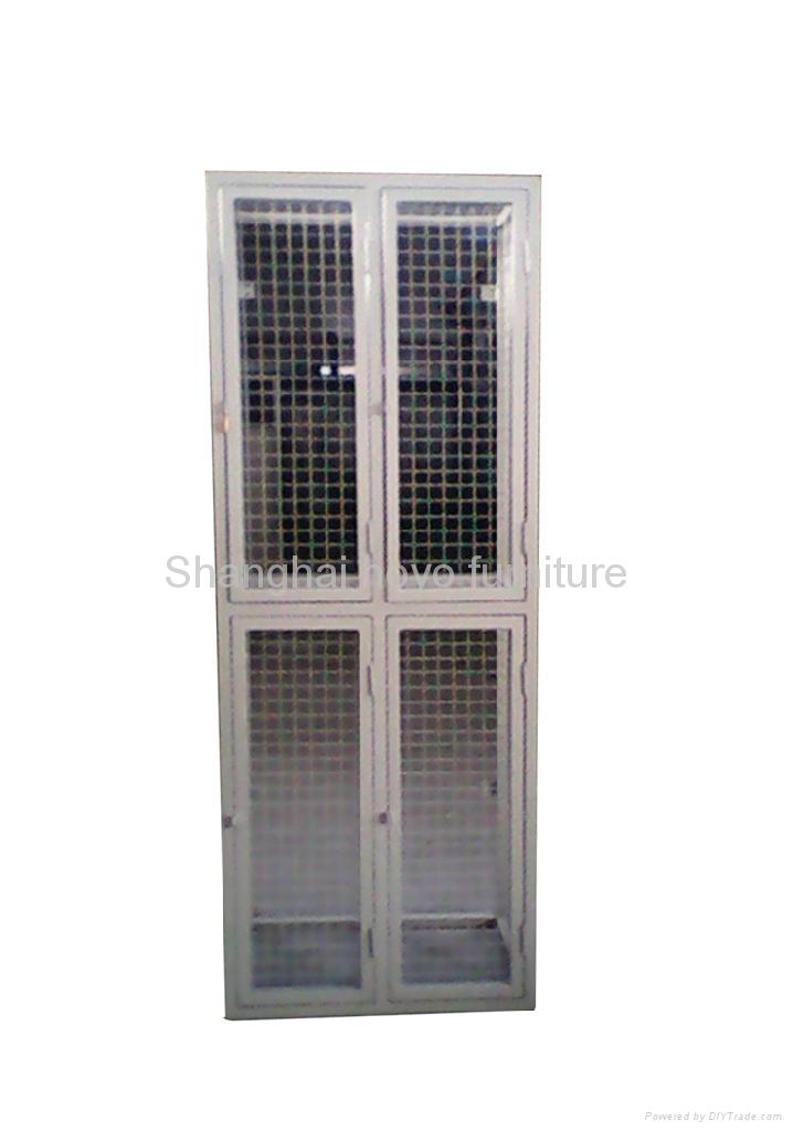 Wire Mesh Storage Locker 4