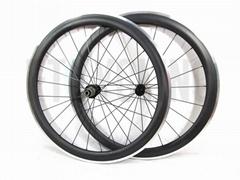 700C Alloy + Carbon 50mm Wheelset