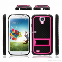 Ballistic kickstand case for Samsung Galaxy S4