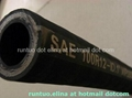 Sell Four wire spiraled hydraulic hose SAE J517 TYPE 100 R12 STANDARD  1