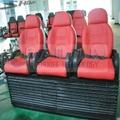 Hot sale 3DOF 5D motion chair 4D cinema
