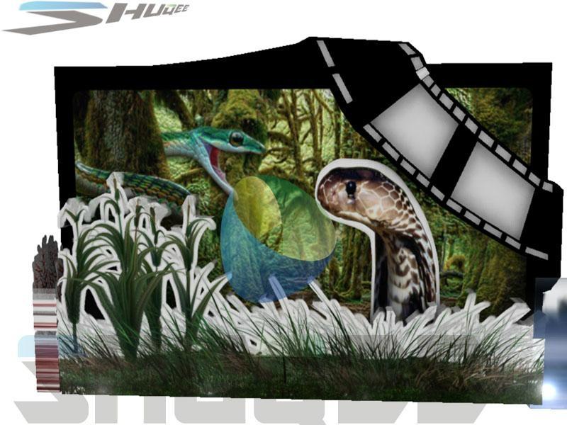 Superb quality kino 7D cinema 5D theater box 4
