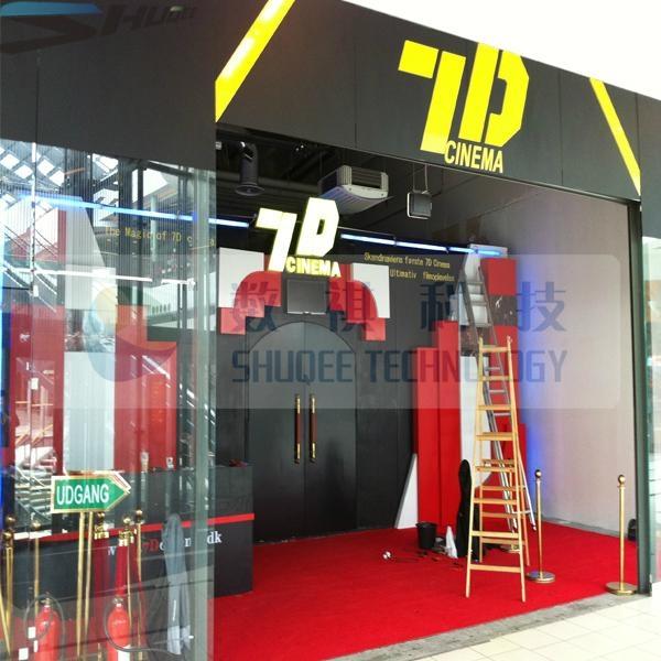 Superb quality kino 7D cinema 5D theater box 5