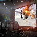 Fireproof special effect 5D simulator