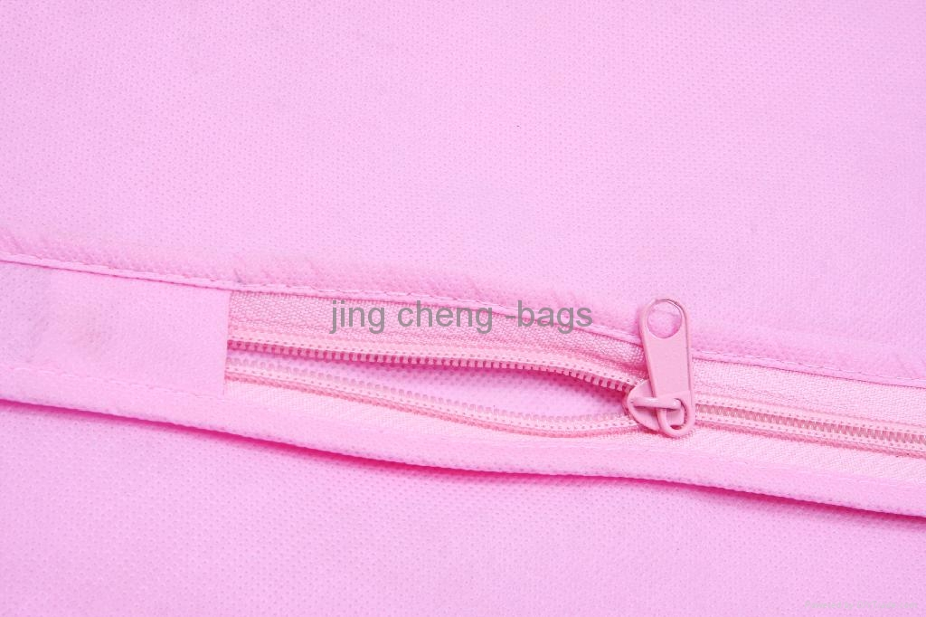 pink color wedding dress dustproof bag 3