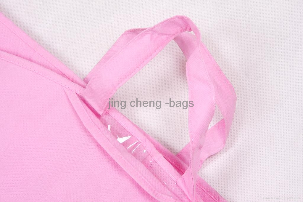 pink color wedding dress dustproof bag 4