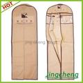brown color wedding dress garment  bag 1