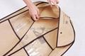 brown color wedding dress garment  bag 2