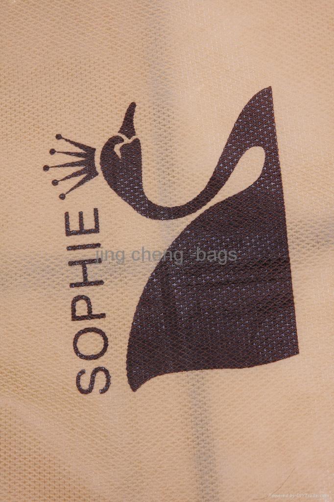 brown color wedding dress garment  bag 3