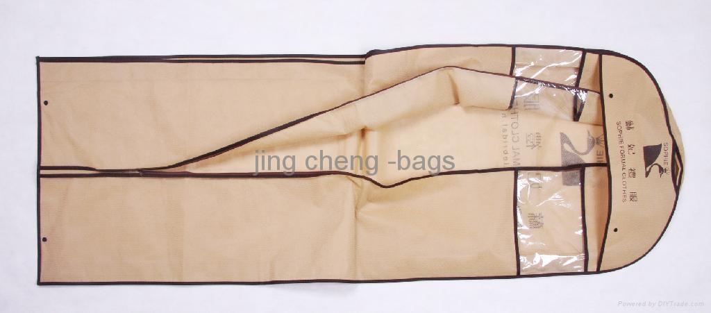 brown color wedding dress garment  bag 5