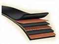 Multiply fabric conveyor belt