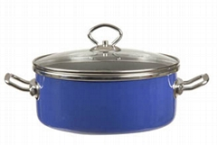 Non-Stick Saucepan (out side is cover Enamel)
