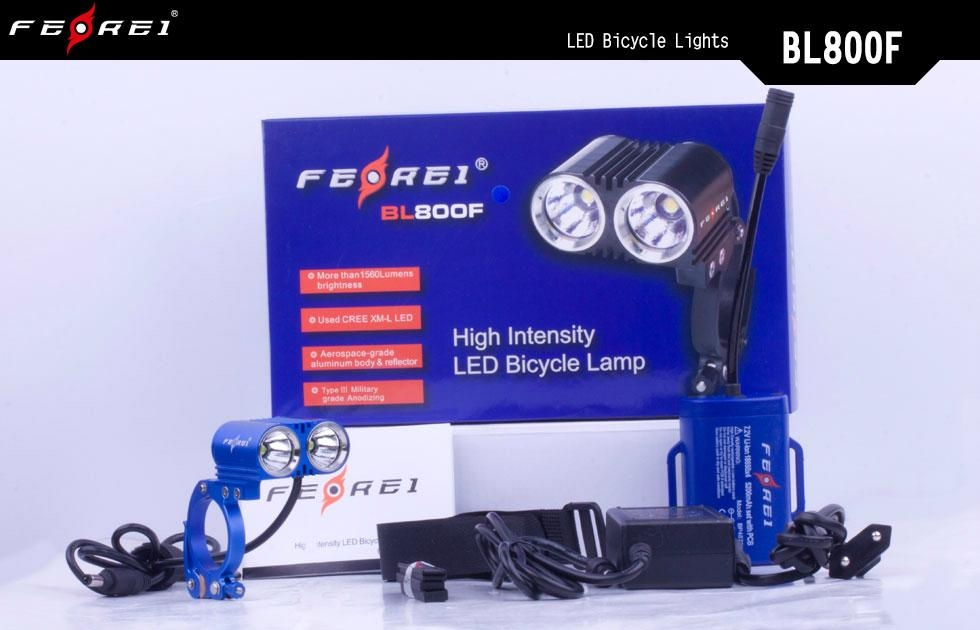 bicycle accessories LED bike light Ferei BL800F  5