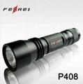 Top tactical led huntng Flashlight P408N