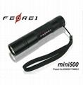 CREE Q5 mini led Aluminum portable torch