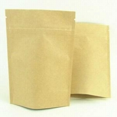 foil lined stand up kraft paper bags