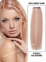 Brazilian virgin straight hair weft