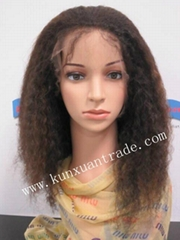 100% full/front lace wig