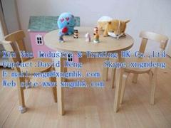 Wooden children's furniture