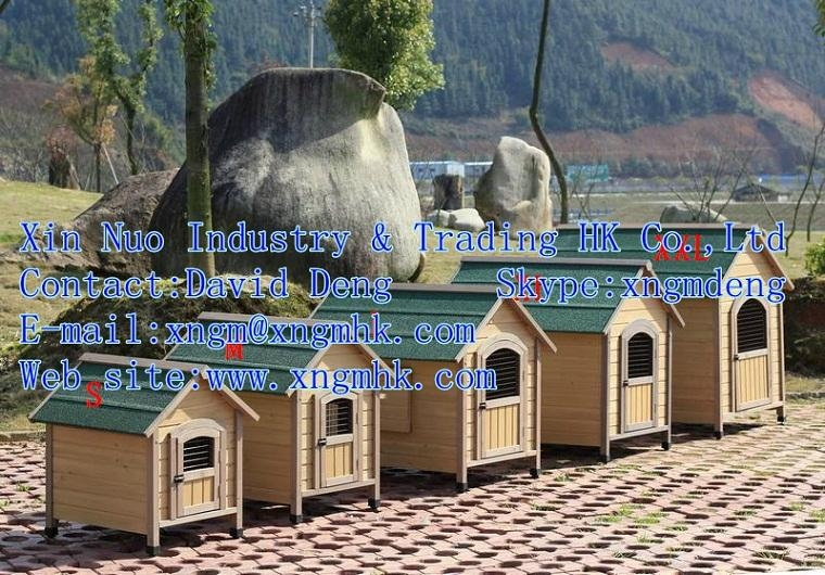 Wooden dog house  1