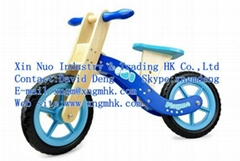 Wooden children's bicycles