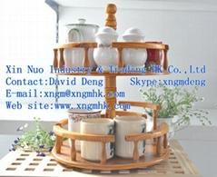Wooden Spice Rack