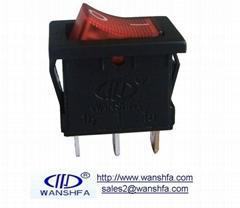 illuminated rocker switch KCD1