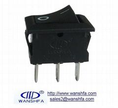 KCD1-102 rocker switch for machine