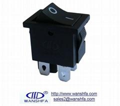 KCD1-104 4pins rocker switch