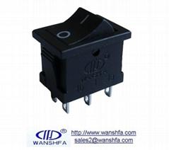 KCD6-202 power rocker switch