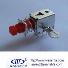 PS-22F07 mini push button switch
