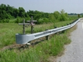 Galvanized two waves highway guardrail 5