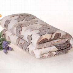 100% polyester coral velvet for blanket
