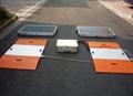 Portable axle truck scale