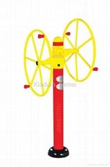 Outdoor Fitness Equipment - Arm Wheel