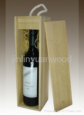 wooden wine box  1
