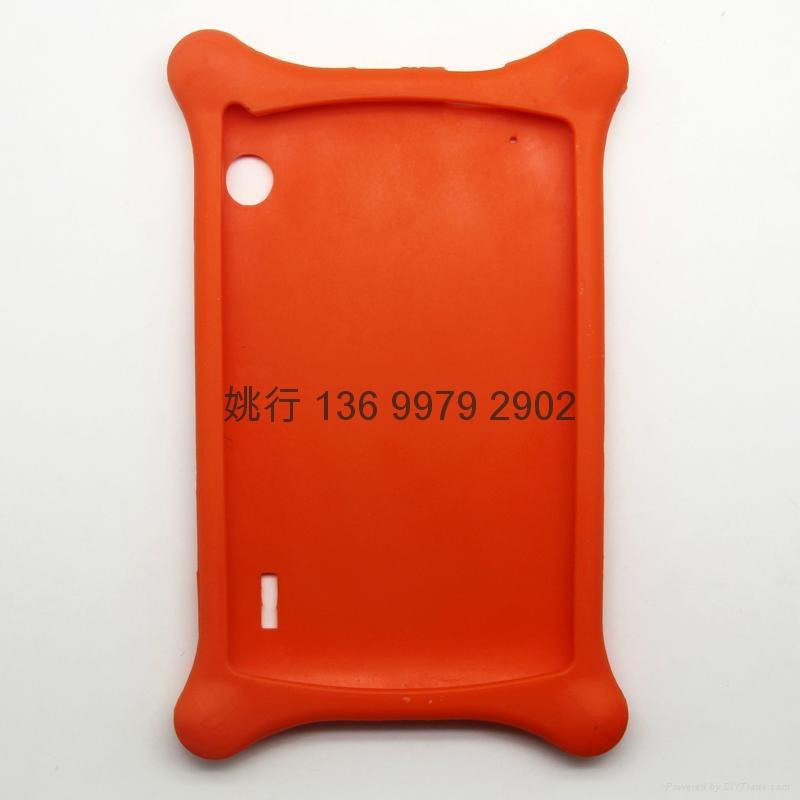 7寸平板硅胶保护套 5