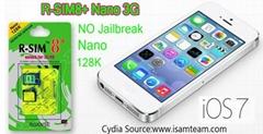 Wholese R-SIM8+ Nano 3G smart memory unlock sim card