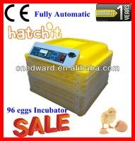 Newest Design&Automatic 96 Eggs Chicken Egg Incubator On Sale With Water Adding