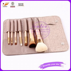 7pcs Popular Makeup Brush Set with Hand bag