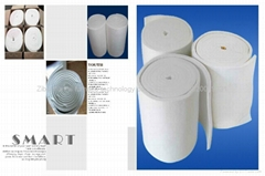 COM Aluminum silicate fiber blanket