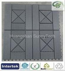 Outdoor WPC DIY tiles-12