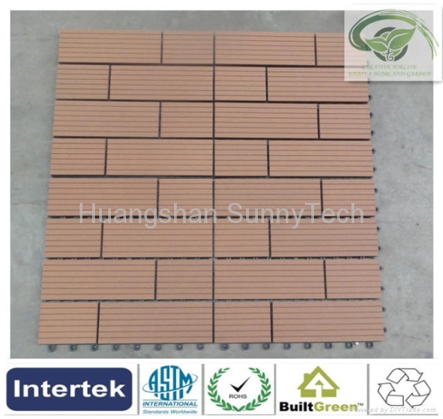 Outdoor WPC DIY tiles-8 1