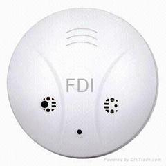 Smoke detector  hidden spy camera