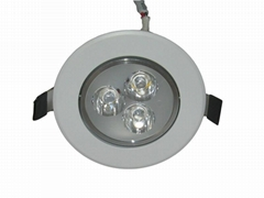 3X2W Dimmable LED Ceiling Down lighting Fire proof and water proof