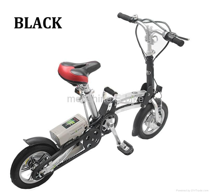 Menshine One Second  Folding &  Electric Bike 1