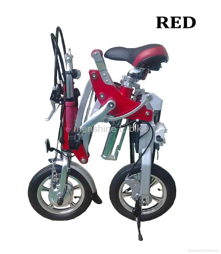 One Second Folding & Open Electric Bike  2