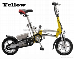 Menshine One Second Folding & Open Electric Bicycle