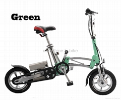 One Second Folding & Open Electric Bicycle